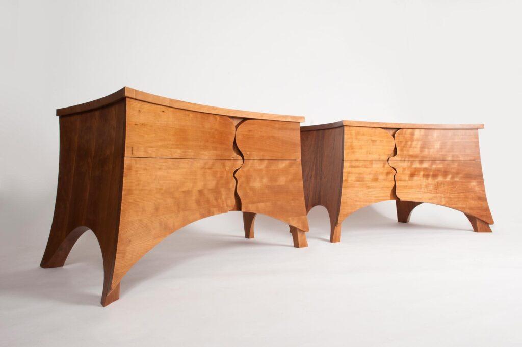 Bespoke designer cherry cabinets